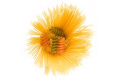 спагетти макаронных изделия Стоковые Изображения