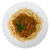 спагетти мяс Стоковое фото RF