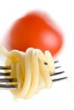 спагетти обеда Стоковое Фото