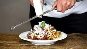 Спагетти акции видеоматериалы
