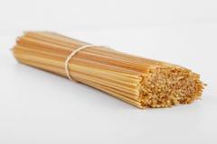 спагетти пачки uncooked Стоковая Фотография RF