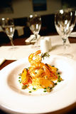 спагетти продуктов моря Стоковое фото RF