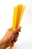 спагетти руки Стоковое Изображение