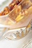 спагетти сервера Стоковое Фото