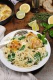 Спагетти с meatballs Стоковые Фотографии RF