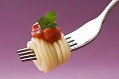 спагетти Стоковая Фотография RF