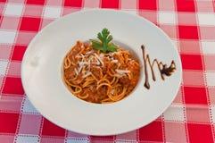 Спагетти Стоковые Изображения RF