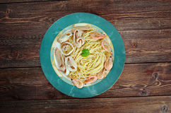 Спагетти ai frutti di конематка Стоковое Фото
