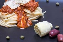 Спагетти Bolognaise Стоковое Изображение RF