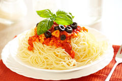 Спагетти Bolognese Стоковое Изображение