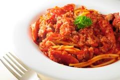 Спагетти Bolognese Стоковые Изображения RF
