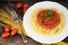 Спагетти bolognese Стоковые Изображения