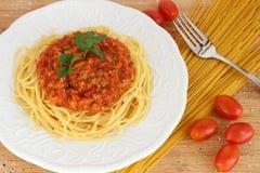Спагетти bolognese Стоковое фото RF