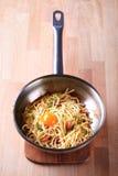 спагетти carbonara alla Стоковая Фотография RF