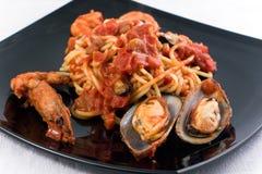 спагетти marinara стоковые изображения