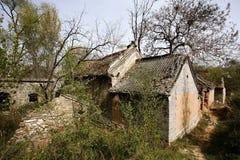 Спад в старой деревне нового Milulou стоковая фотография rf