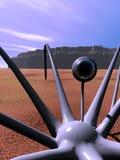 Спайдер 3 чужеземца Стоковые Изображения