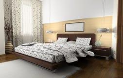 спальни нутряные к Стоковые Фотографии RF