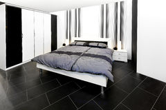 спальня аккуратная Стоковые Фотографии RF