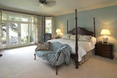 спальня классическая Стоковая Фотография RF