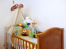 спальня младенца Стоковое Фото