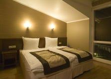 спальня просто Стоковые Фото
