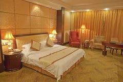 спальня роскошная стоковое изображение