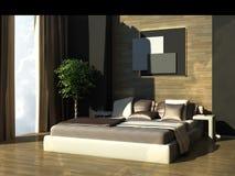 спальня самомоднейшая Стоковые Фото