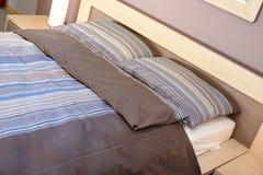 спальня удобная Стоковое Изображение