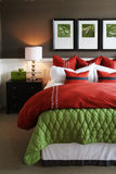 спальня ультрамодная Стоковые Изображения RF