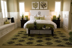 спальня 1704 Стоковые Изображения