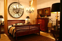 спальня Стоковые Изображения RF