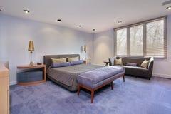 спальня carpeting lavendar оригинал стоковые изображения rf
