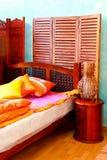 спальня oriental стоковые фотографии rf