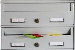 Спам в почтовом ящике стоковые изображения