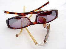 спаривает солнечные очки 2 Стоковое Изображение