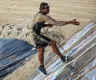 Спартанская гонка Дубай стоковые фотографии rf