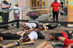 Спартанская гонка Стоковая Фотография RF
