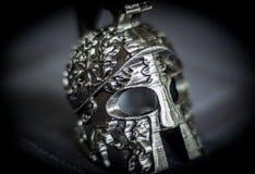 Спартанская модель шлема Стоковое Изображение