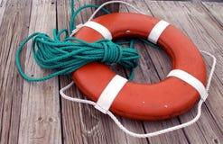 спасательный жилет стыковки Стоковая Фотография