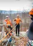 Спасательная команда горы NJSAR Стоковые Фотографии RF
