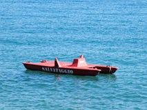 Спасательная лодка Стоковое Изображение