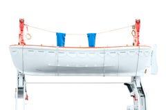 Спасательная шлюпка на шлюпбалке Стоковые Фотографии RF
