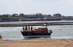 Спасательная шлюпка Margate RNLI, Кент, Англия Стоковые Фото