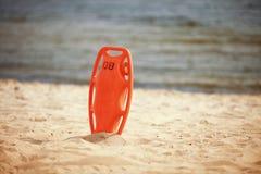 Спасательное оборудование пляжа личной охраны стоковое изображение rf