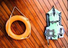 Спасательное оборудование Стоковая Фотография