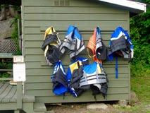 Спасательные жилеты стоковое изображение