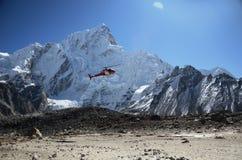 спасение вертолета Стоковое фото RF
