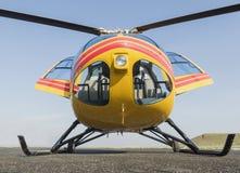 Спасение вертолета, вертолет в воздухе пока летающ Стоковые Фото