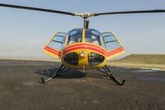Спасение вертолета, вертолет на взлётно-посадочная дорожка Стоковые Фото